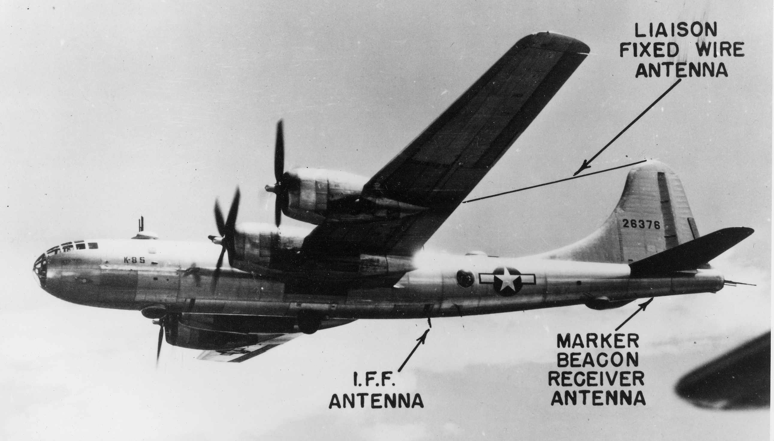 Port side antenna descriptions