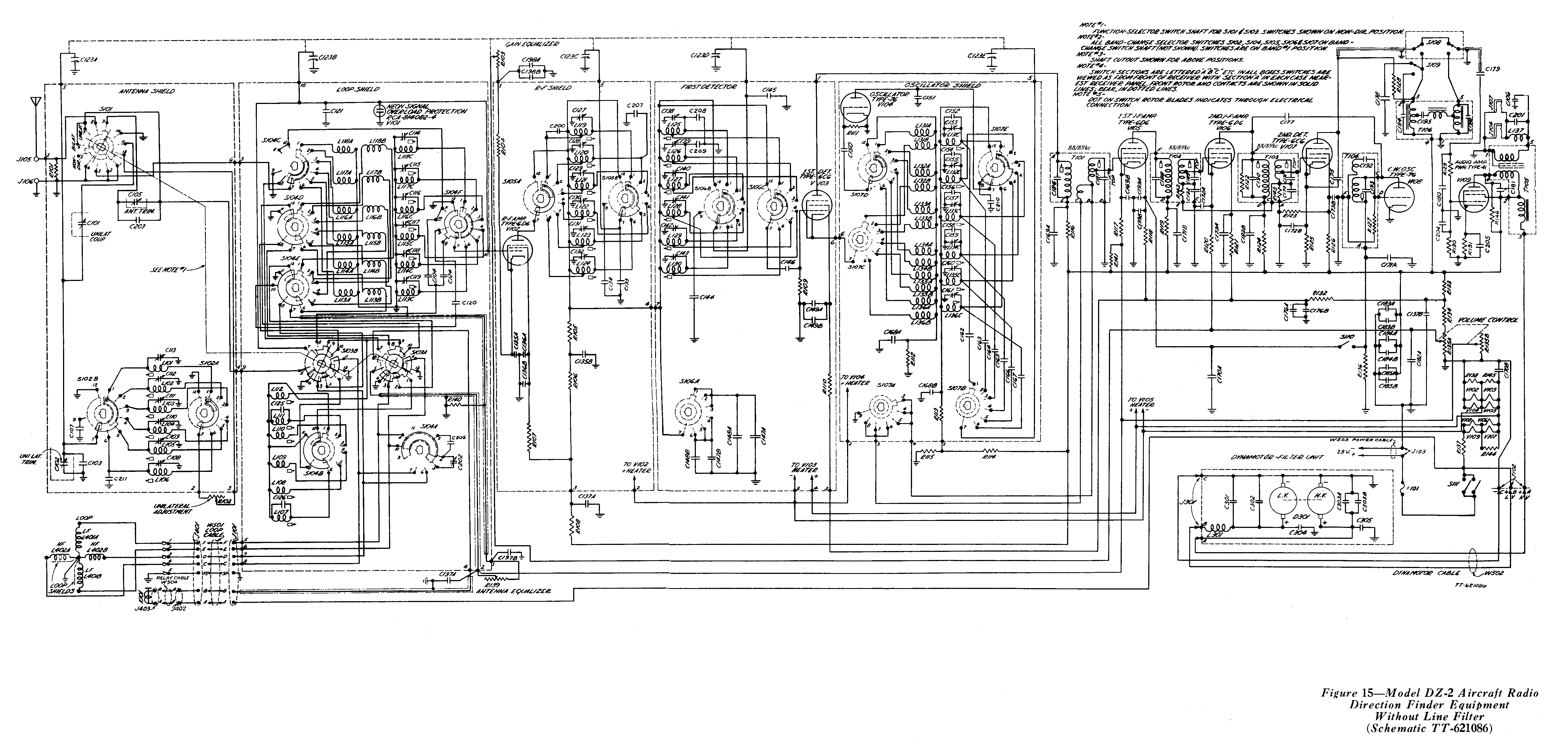 on aircraft wire diagram