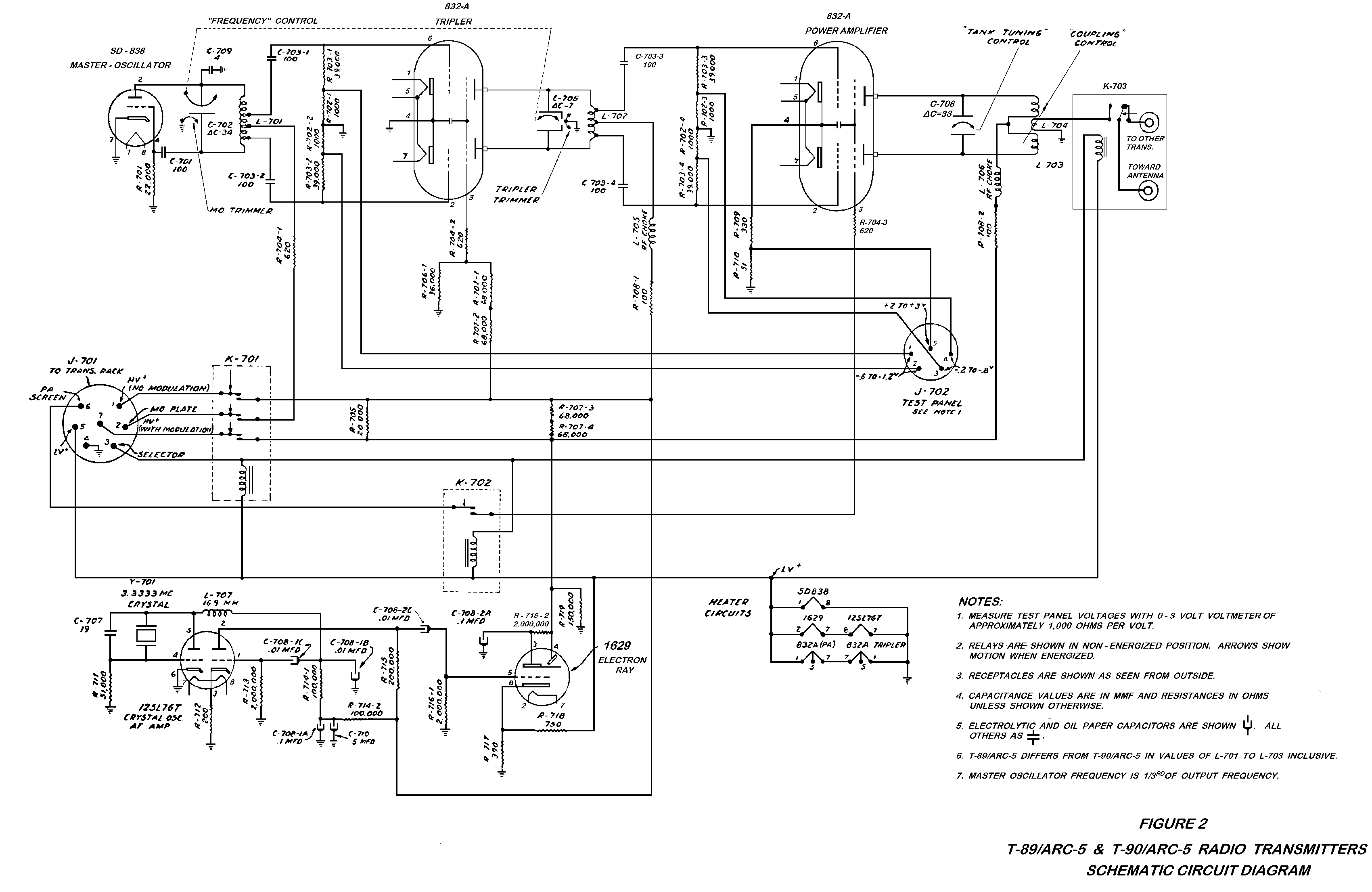 Not So Common Documentation Systems Wiring Diagram Additionally Fm Radio Receiver Circuit Tunable Vhf Arc 5 Transmitter Schematic
